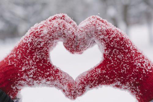 Handen beschermen tegen de kou
