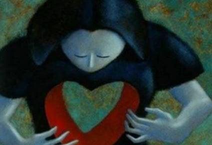 Gat in het hart