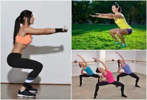 6 oefeningen om thuis je benen te trainen