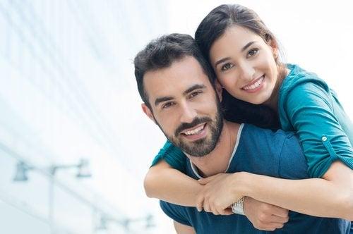 gelukkige relatie en liefde