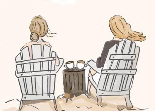 Vriendschap tussen vrouwen