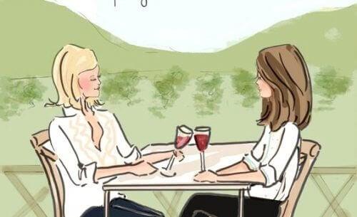 Vriendschap tussen vrouwen: een sensationele manier om stress te bestrijden.