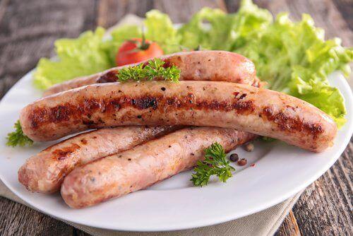 cellulitis voorkomen en vlees(waren)