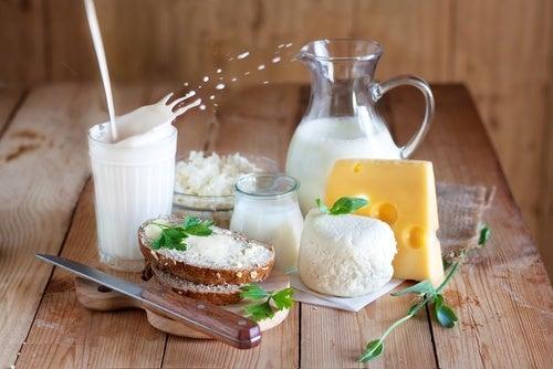 Cellulitis voorkomen en zuivelproducten