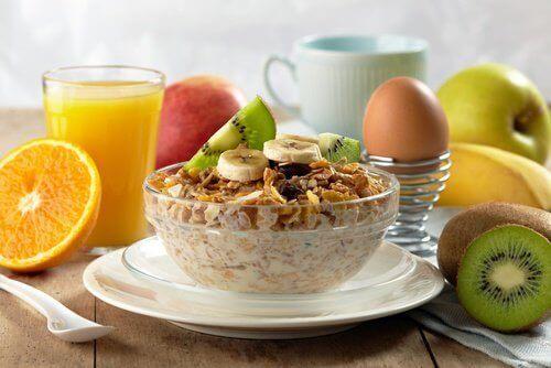 Recepten voor ontbijtjes om af te vallen