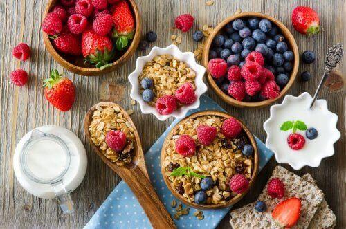 Eet gezondom van spierpijn af komen