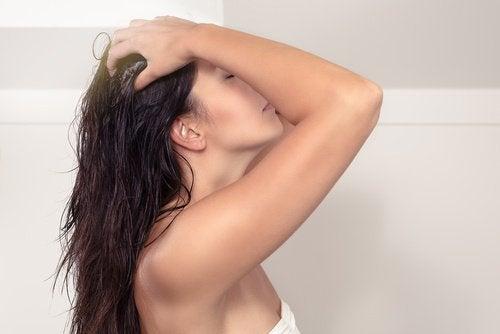 Haarmasker om haargroei te bevorderen