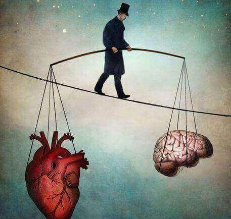 Je hoofd koel houden door een balans tussen hoofd en hart te zoeken
