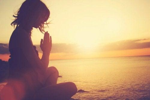 Innerlijke vrede door mediteren
