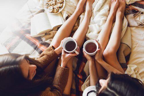 Samen genieten van theeën