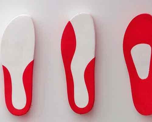 Gebruik inlegzolen in platte schoenen
