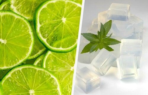 Recepten voor rozenwater met citroen