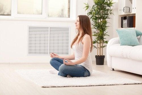 Gooi je leven om door te mediteren