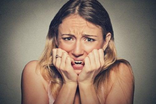 Last van zweetvoeten door emotionele factoren