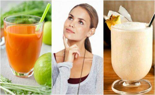 Verbeter je geheugen met deze vijf natuurlijke smoothies