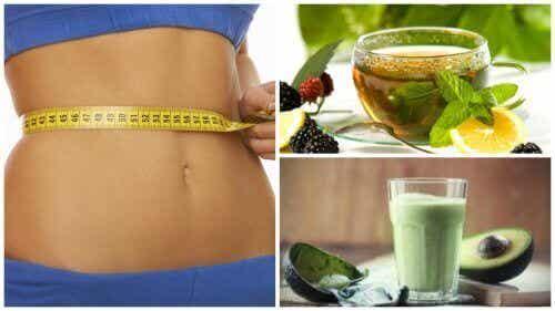 Vier manieren om groene thee te drinken om gewicht te verliezen