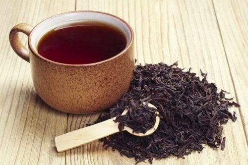 Vroegtijdige grijze haren en thee