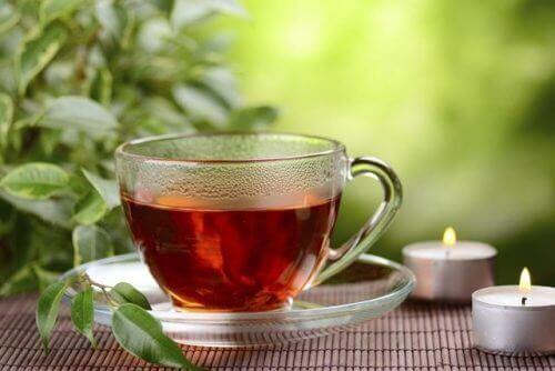 Natuurlijke infusies rode thee