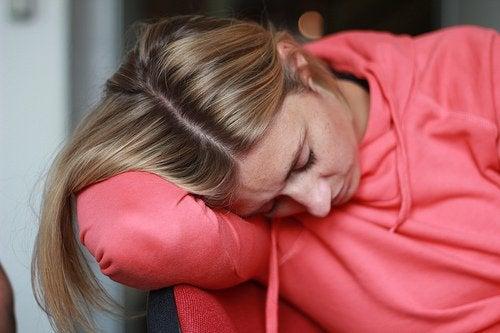 Vermoeidheid en bloedarmoede kan een van de symptomen van blaaskanker zijn