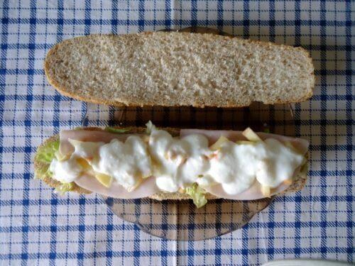 Ontbijtjes om af te vallen met kalkoenfilet en fruit