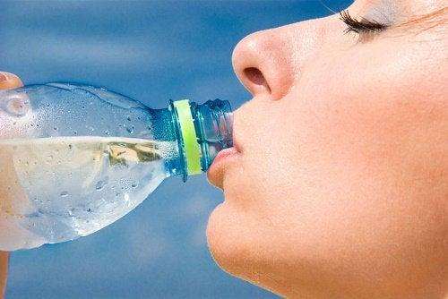 Slappe bovenarmen en water