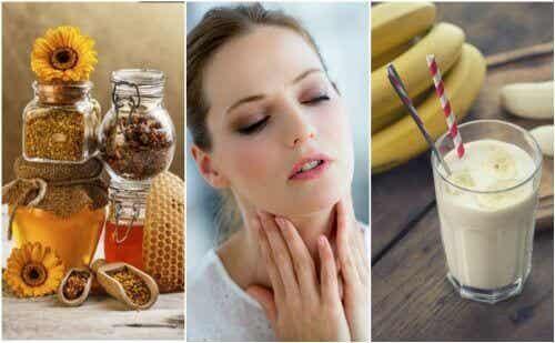 Verzacht een droge keel met 6 natuurlijke remedies