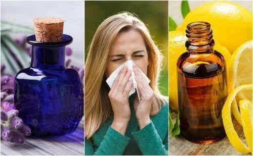 6 etherische oliën die de symptomen van allergieën verminderen