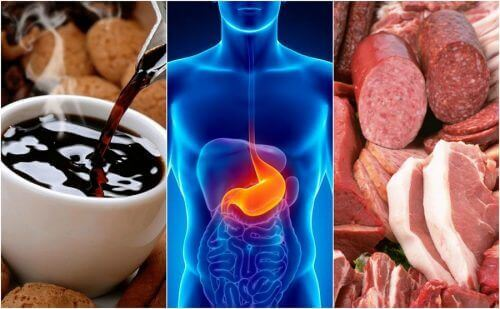 8 voedingsmiddelen die zuurbranden veroorzaken