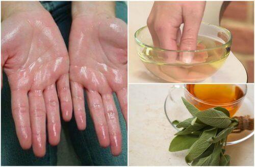 7 geweldige natuurlijke remedies voor zweterige handpalmen