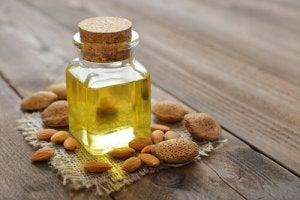 Remedies voor wallen amandelolie
