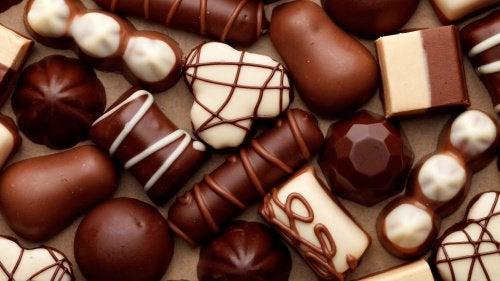 Chocolade kan leiden tot zuurbranden