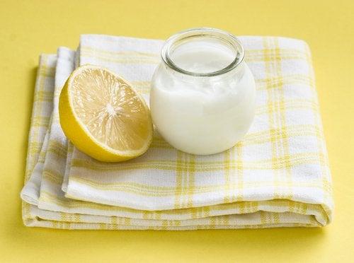 Masker van yoghurt en citroen de voordelen