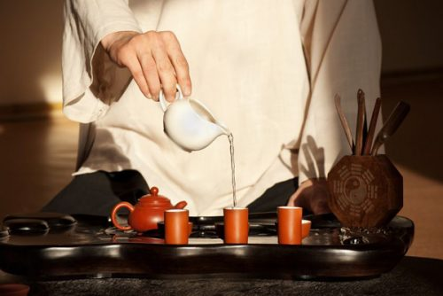 Japanse disciplines thee ceremonie