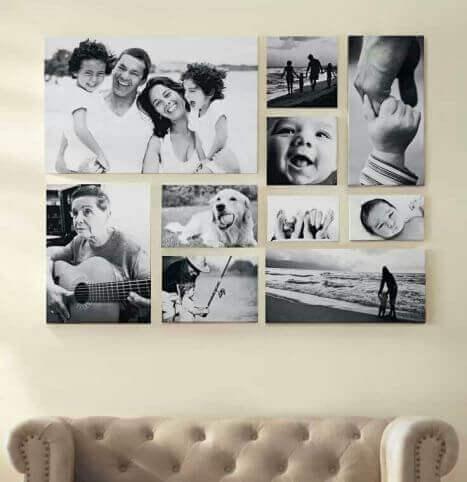 Maak een collage van foto's