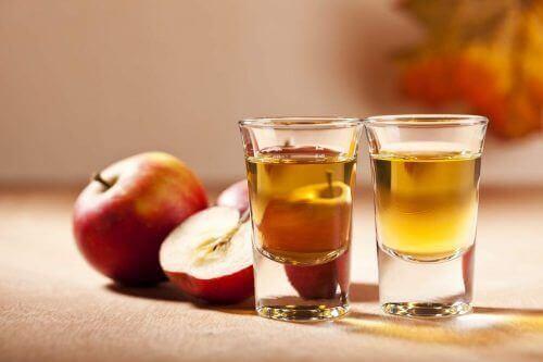 Behandel gasvorming met appelazijn