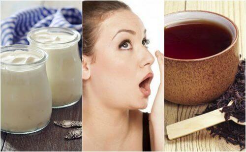 Natuurlijke middelen om een slechte adem te bestrijden
