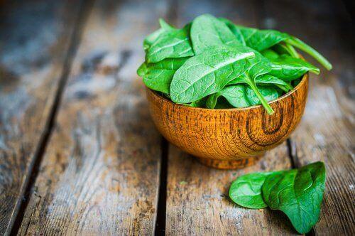 Maculadegeneratie en spinazie