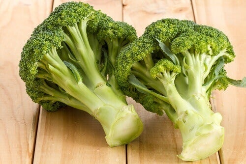 Broccoli eten om je cerebrale activiteit te versterken