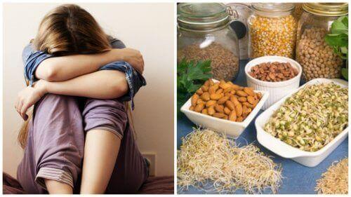 Depressie als gevolg van een tekort aan 6 voedingsstoffen