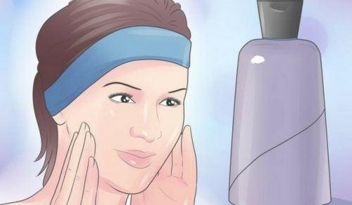 Zes maskers voor een droge huid