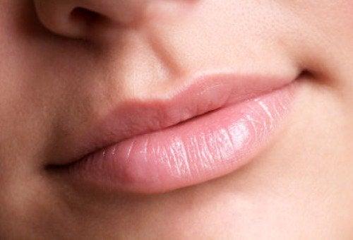 De vorm van je lippen kan een duidelijke V hebben