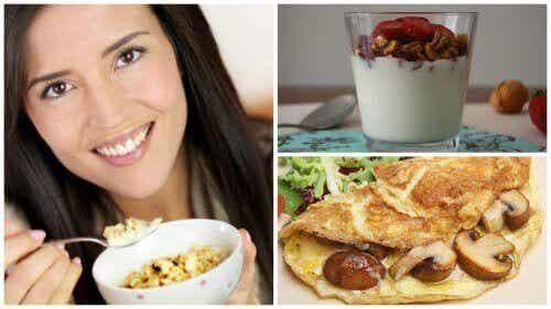 Eet een eiwitrijk ontbijt voor een dag vol energie!