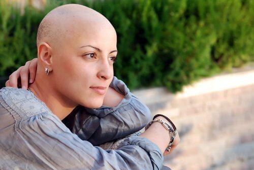 Een kankerpatiente