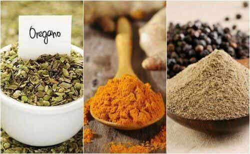 Je kan zout vervangen door diverse specerijen