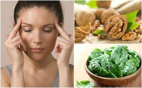 Zeven voedingsmiddelen die de cerebrale activiteit versterken