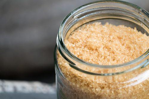 Exfoliërende producten voor je huid met bruine suiker