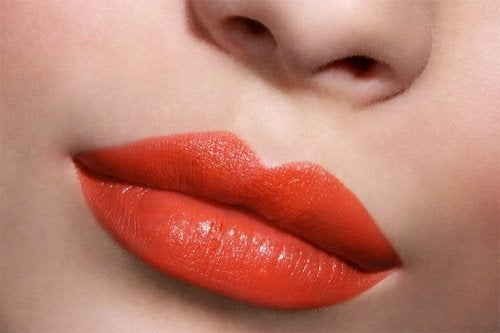 Volle en rode lippen