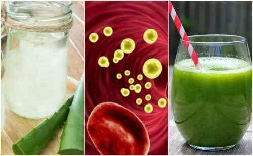Je bloedsomloop reinigen met vijf geneeskrachtige drankjes