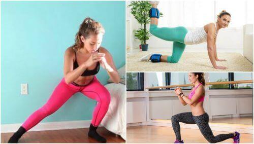 Verstevig je bilspieren met vijf eenvoudige oefeningen die je thuis kan doen
