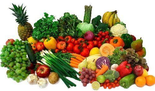 Een tekort aan vitaminen en mineralen door te weinig groente en fruit